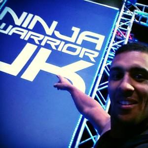 Ruel at ninja warrior